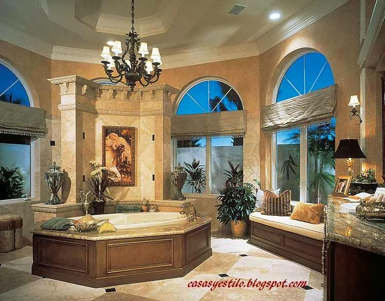 Casas y estilo ba os de lujo y costosos casas y estilo for Banos de casas de lujo