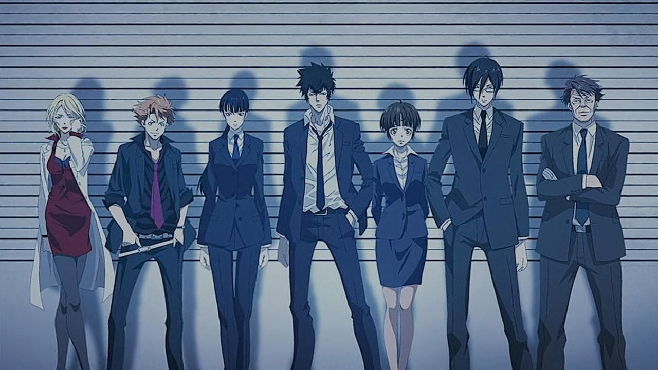 Anime Psychological Horror to describe Psycho-Pass