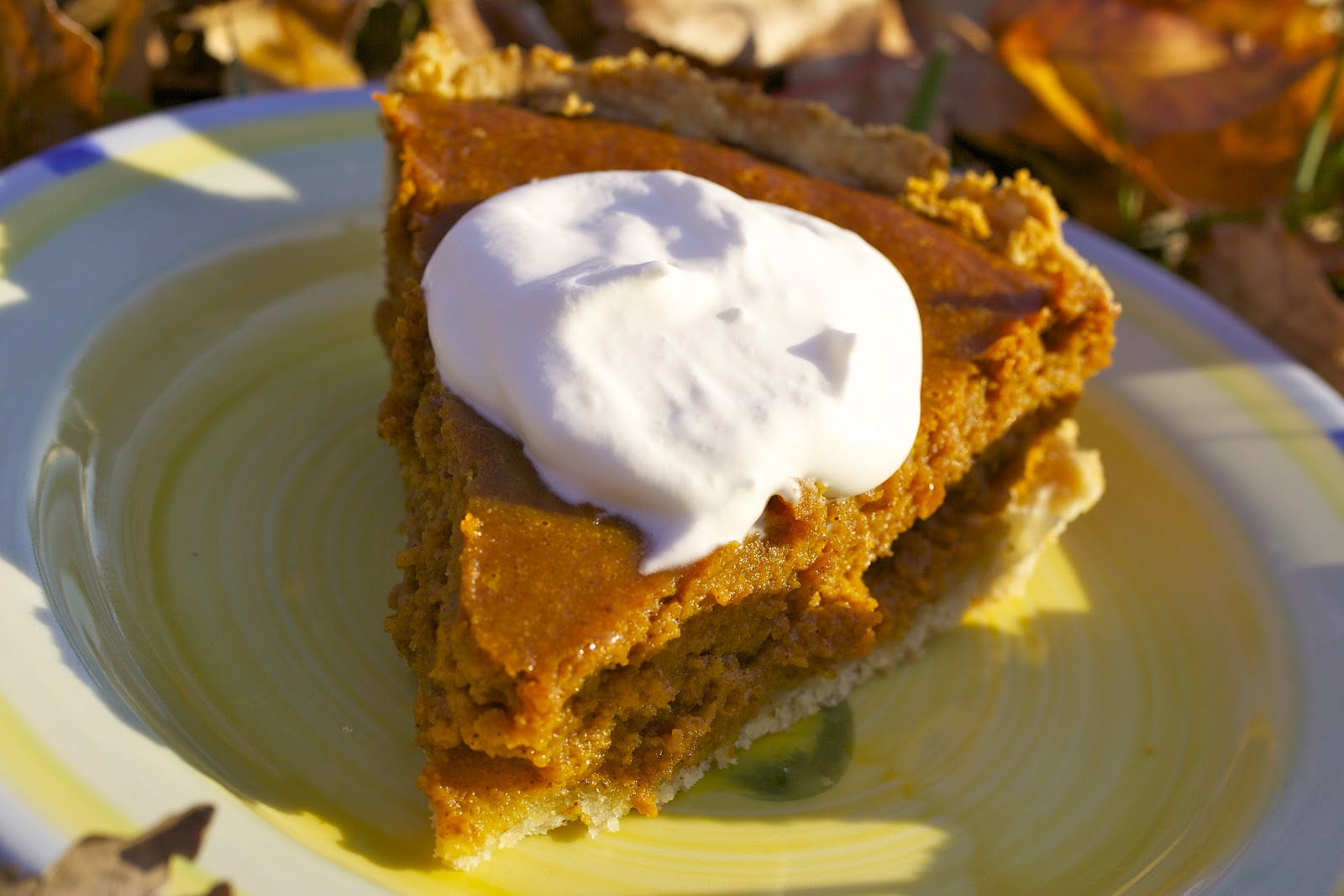... Make It with Beth: The Best Pumpkin Pie with Homemade Whipped Cream