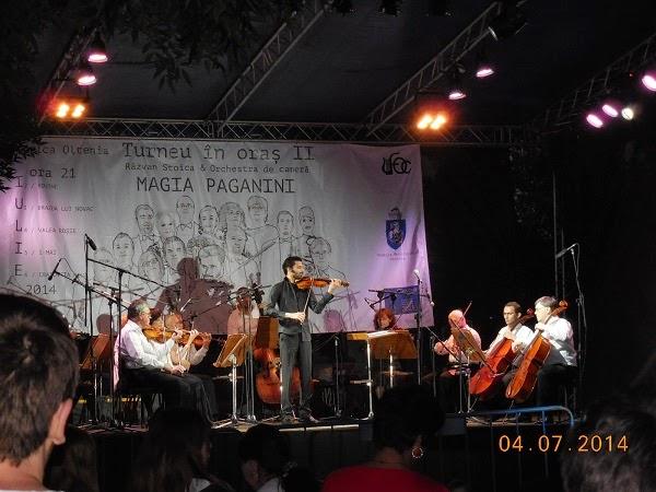 Filarmonica in cartiere cu Magia lui Paganini