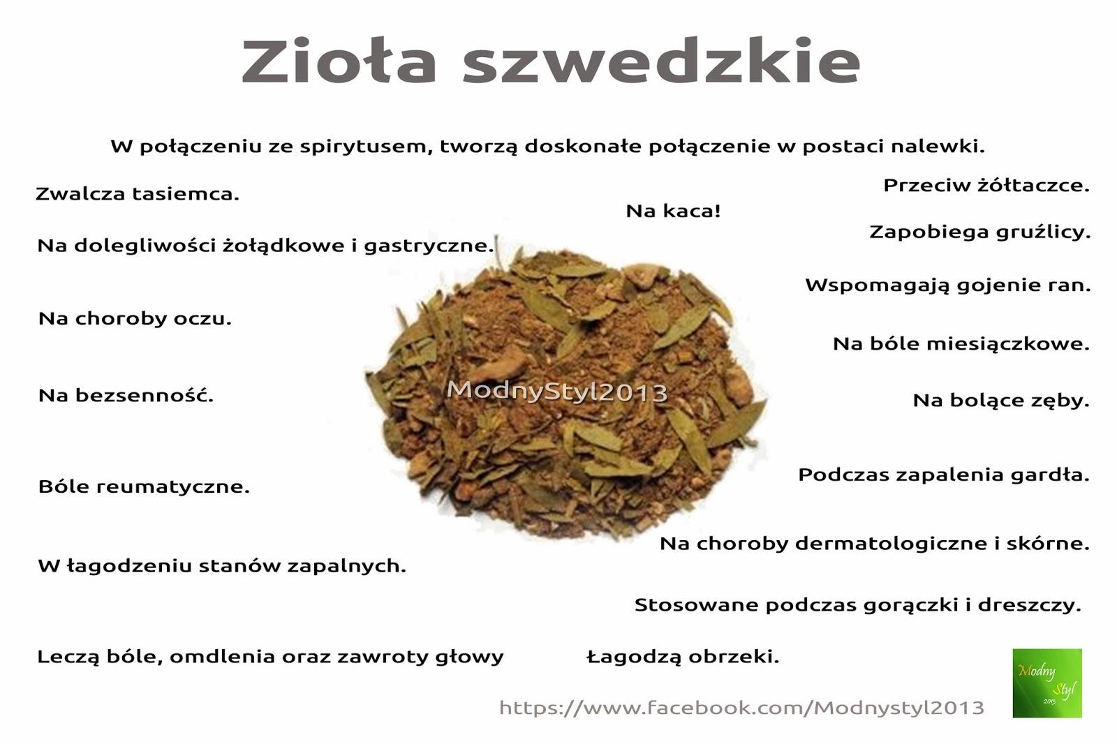 Cudowne zioła szwedzkie