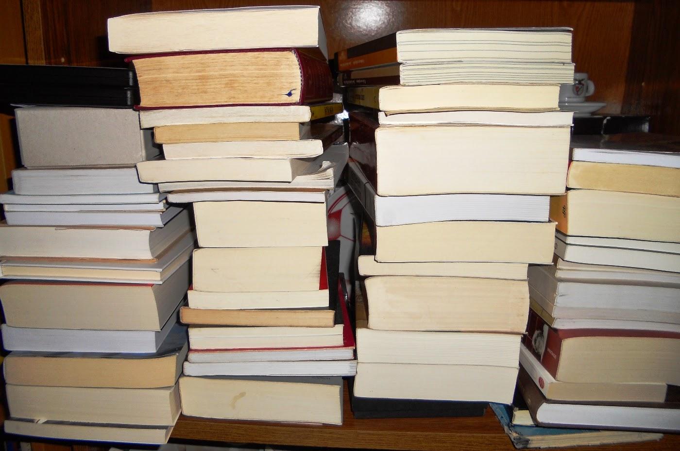 Tsundoku, Pilha de Livros