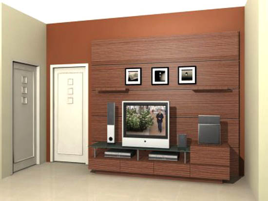 flat screen tv wall cabinet designs 4 image