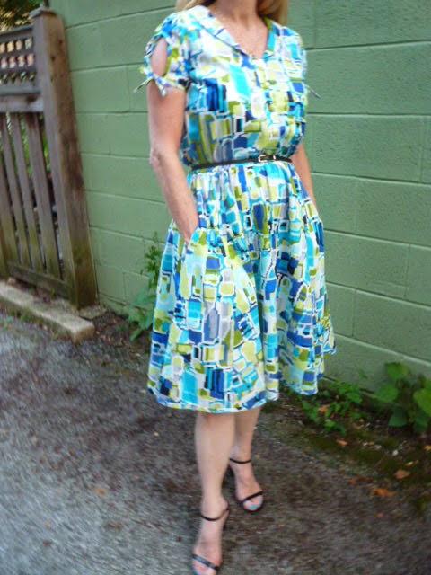 Rhonda\'s Creative Life: The Sew Liberated Clara Dress Sew Along Begins!
