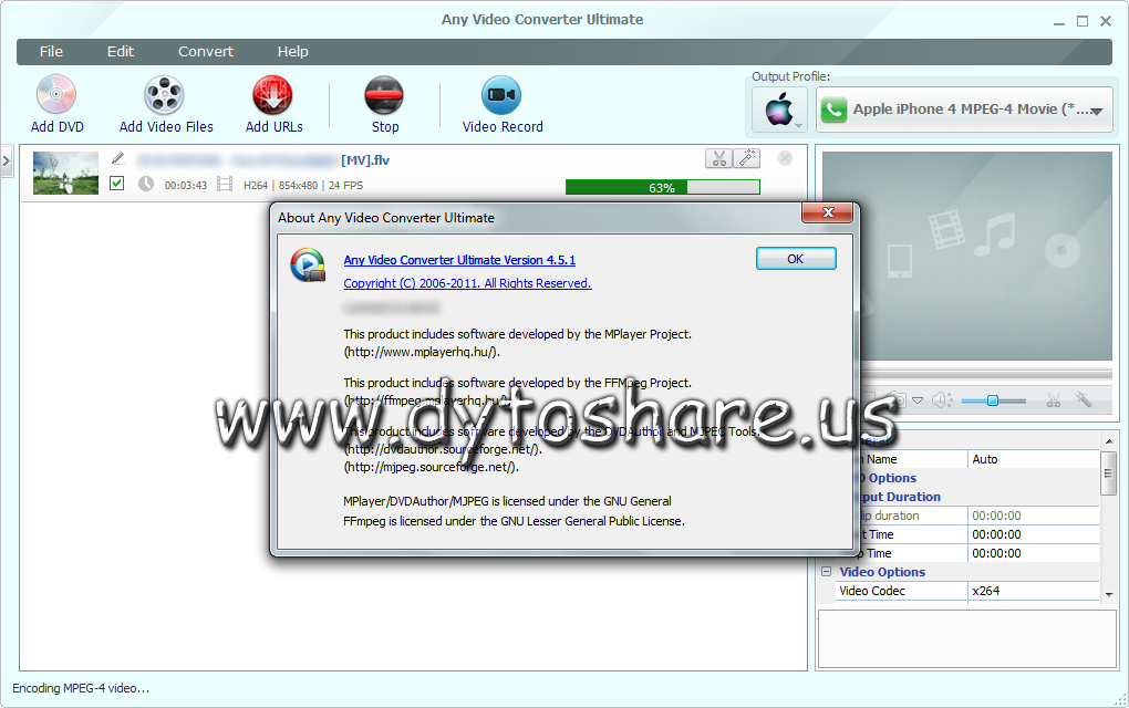 DytoBagas Software Crack: Any Video Converter Ultimate 4.5
