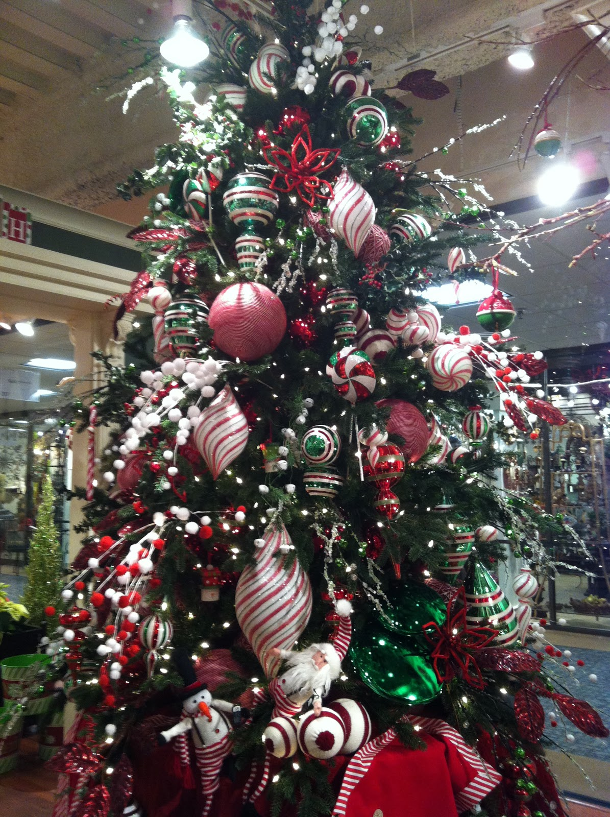 kristens creations christmas tree decorating ideas - Country Themed Christmas Tree Decorations