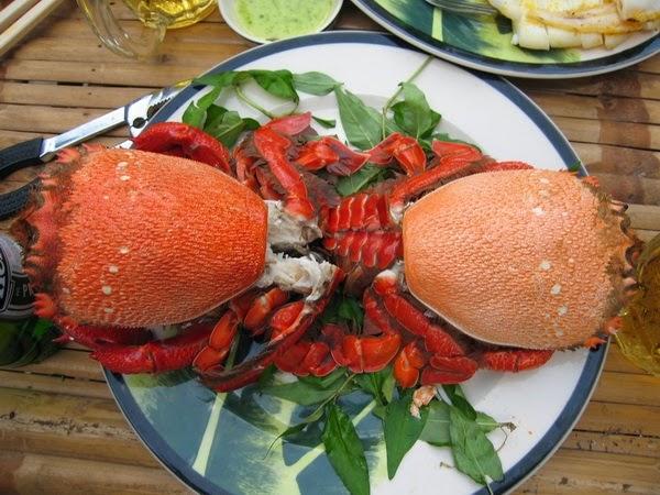 Huỳnh Đế Crab in Phú Yên Province (Cua Huỳnh Đế)1