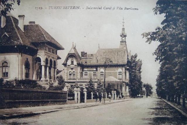 Vila Burileanu de pe Bulevardul Carol din Turnu Severin