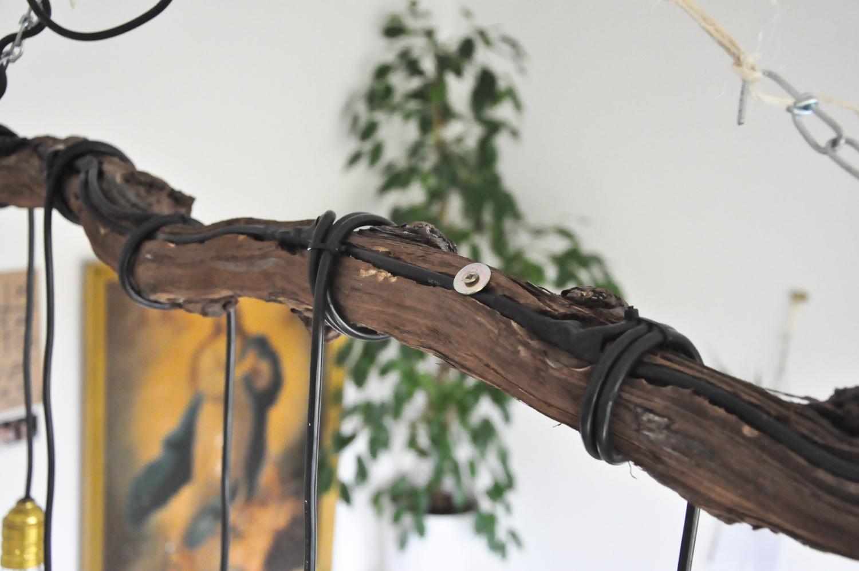 Guest-DIY} Lampe aus einem Weinstock - mein feenstaub – DIY, Deko ...