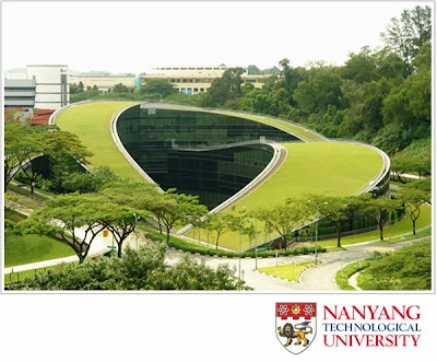 Green architecture styles at Nanyang Technological University