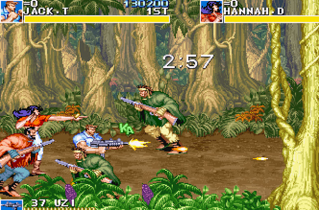 Cadillacs and Dinosaurs - Episode 2 Fighting Screenshot