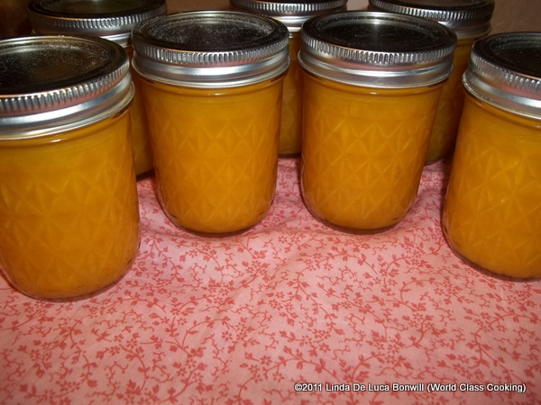 World Class Cooking: Mango Lime Jam