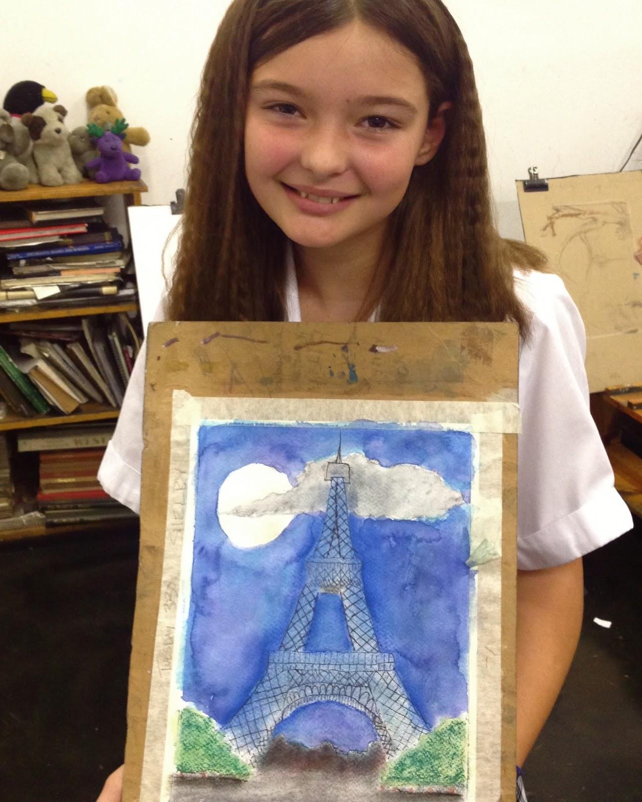 cobalt violet amazing art kids at the wizard of art
