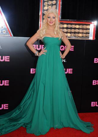 christina aguilera dress
