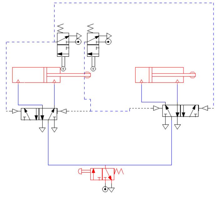 Circuito Hidraulico Basico : Circuito hidraulico basico fluidsim tecpetro