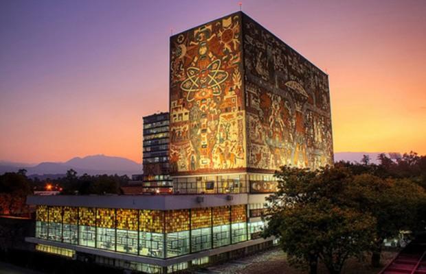 UNAM Central University City Campus Library
