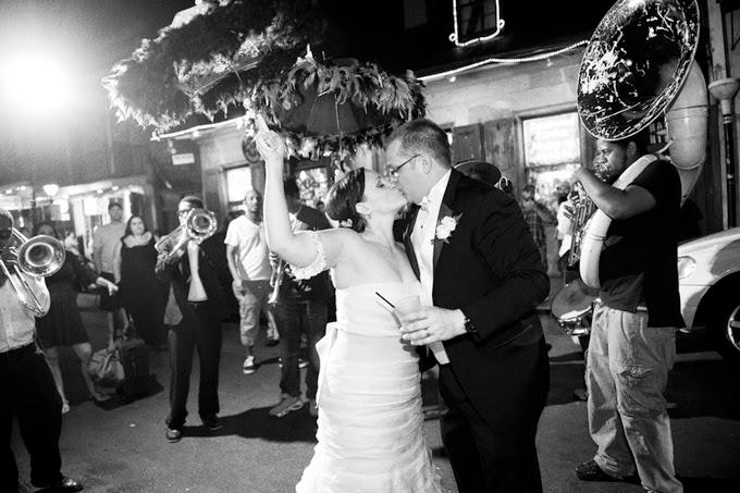 New Orleans Destination Real Wedding