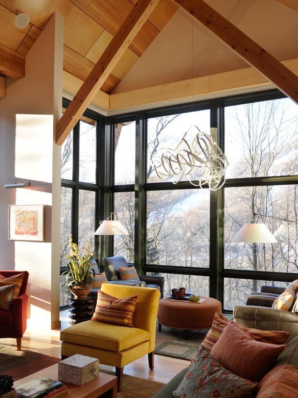 Unexpected interiors hgtv dream home 2011 in vermont for Hgtv dream home interior