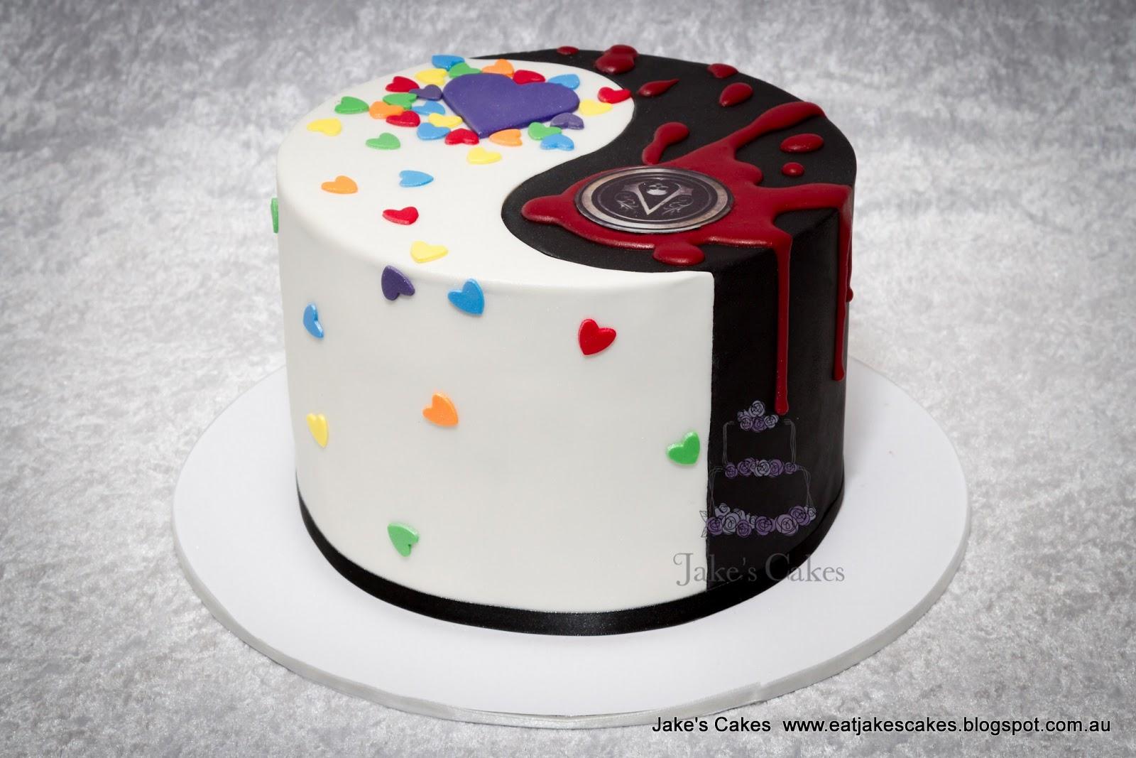 Jakes Cakes Yin Yang Cake