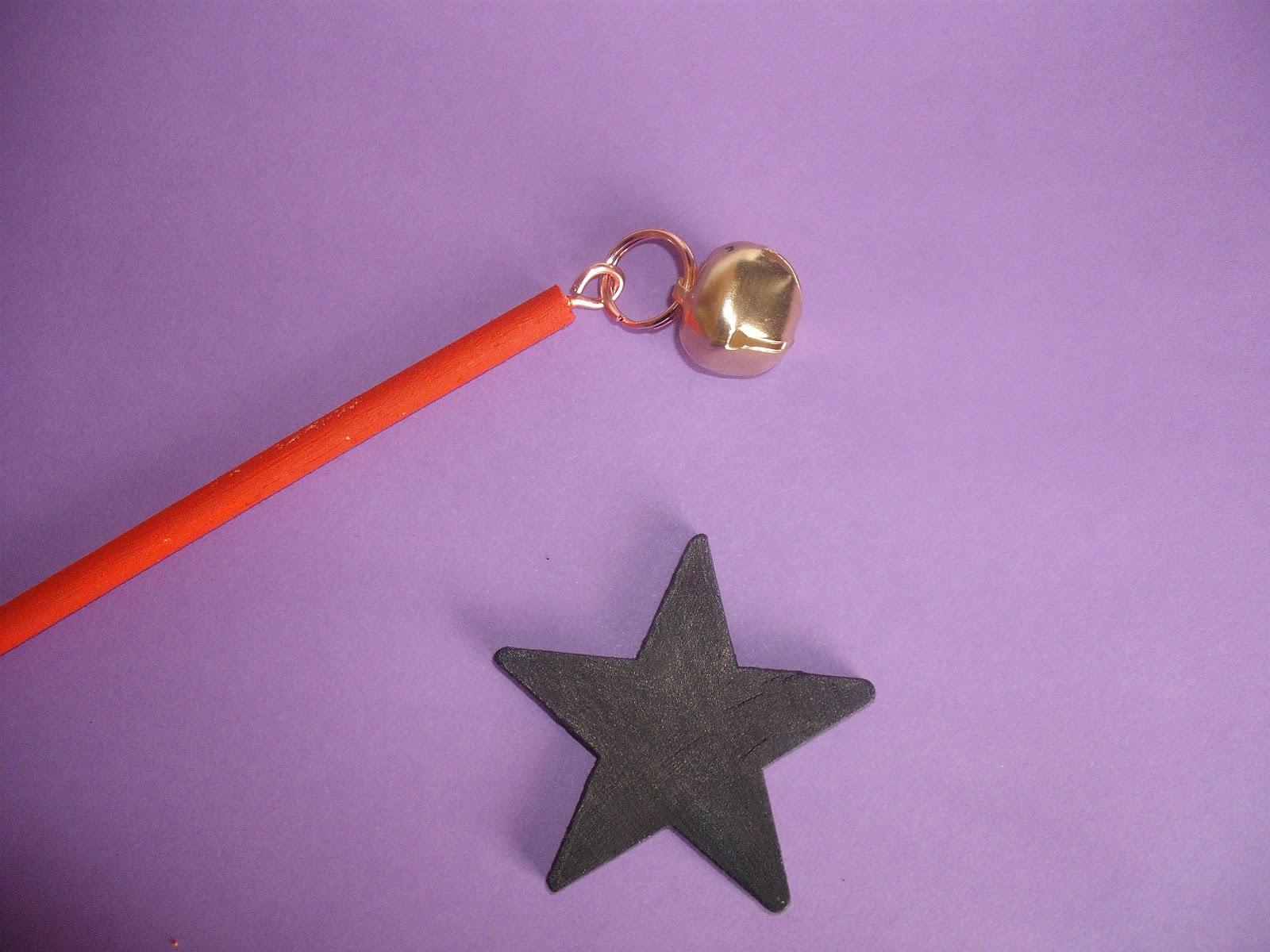 Палочка для волшебника своими руками