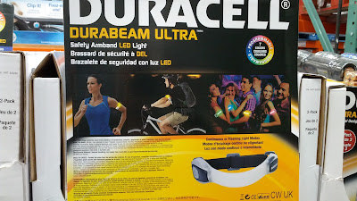 Duracell Durabeam Ultra Safety Armband LED Light can be used as a glow stick in concerts or raves