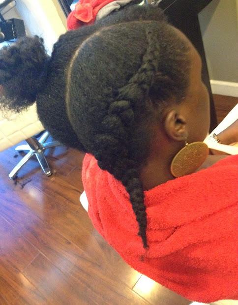kurlee belle natural hair tutorial