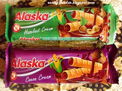 Chrupek z nadzieniem kakaowym i orzechowym - Alaska
