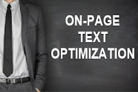 SEO On-page Optimization of Text Element Provided by Savacorn Home