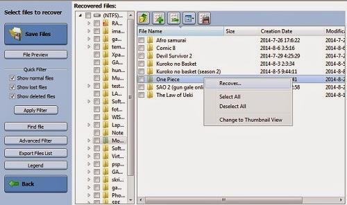 Tutorial Mengembalikan File Yang Terhapus Di Hardisk