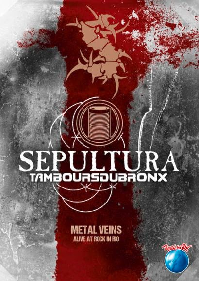 Sepultura With Les Tambours Du Bronx: Metal Veins – Alive At Rock In Rio