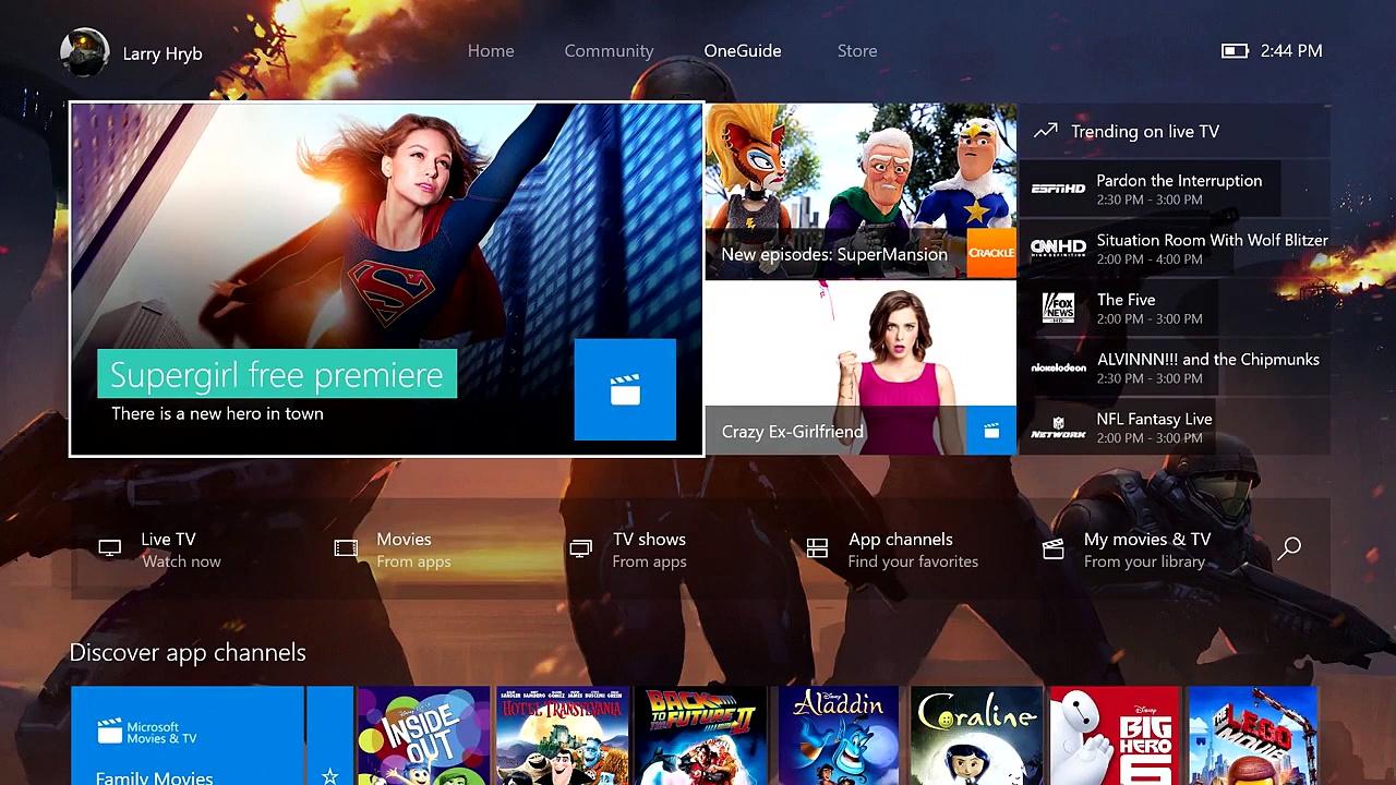 xbox one la nouvelle interface et la r trocompatibilit disponibles geekmpt blog jeux video. Black Bedroom Furniture Sets. Home Design Ideas