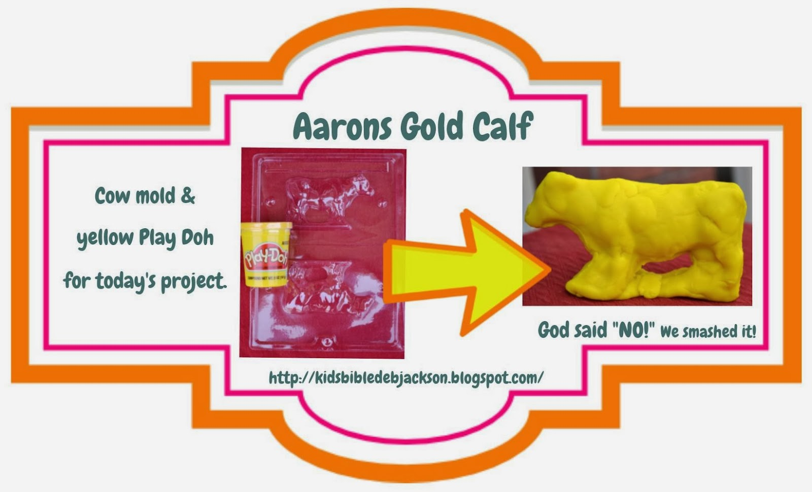 Free coloring page golden calf - Www Biblefunforkids Com