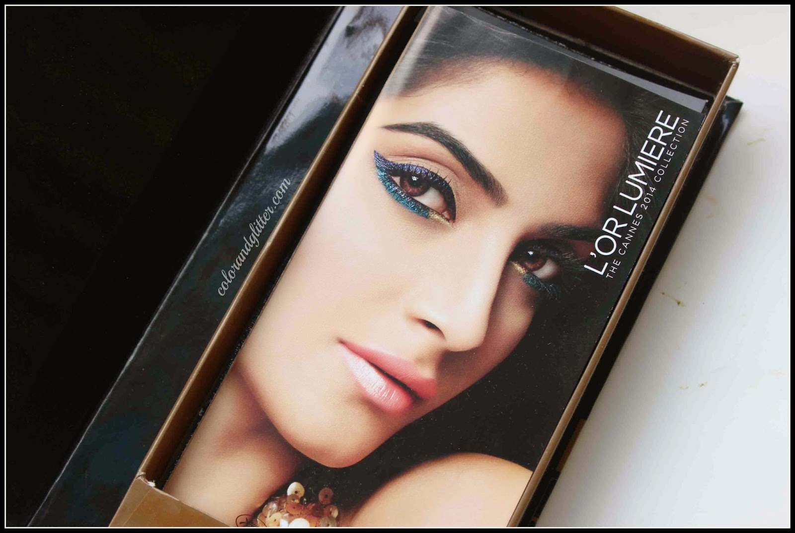 L'Oreal Paris L'Or Lumiere Cannes Collection Box - Resplendent in Gold