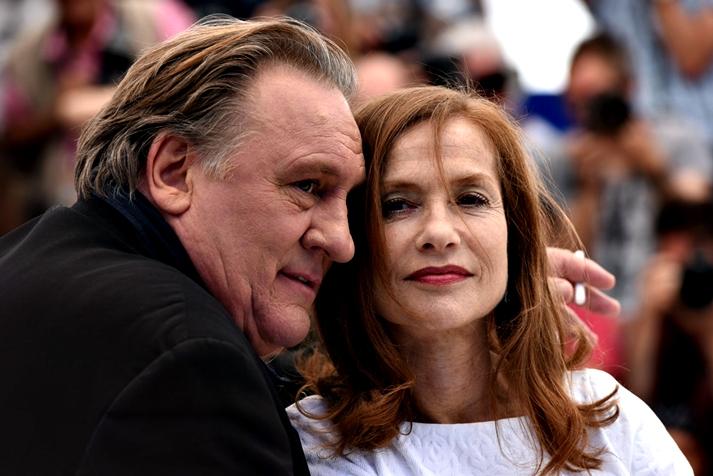 Gérard Depardieu e Isabelle Huppert