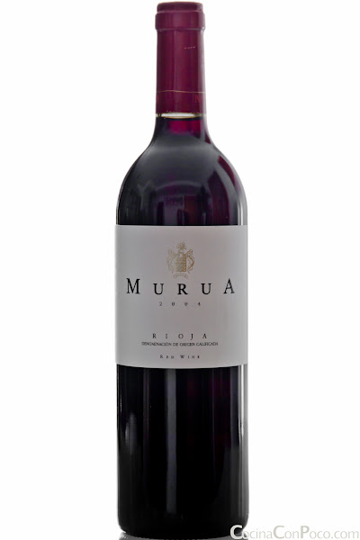 Murua - Tinto Reserva 2004 - Blanco fermentado en barrica - Masaveu Bodegas