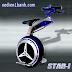 Ấn tượng xe đạp điện tự chế 1 bánh Ryno