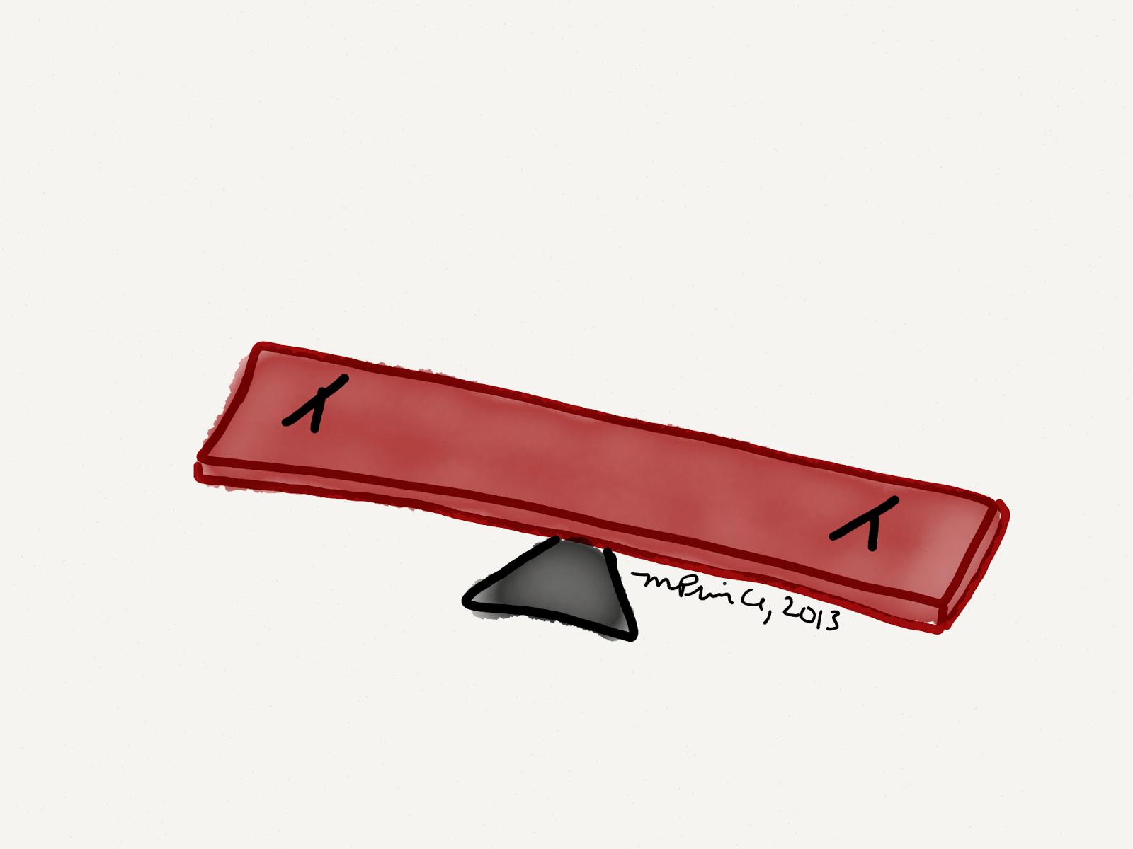 simple machine seesaw