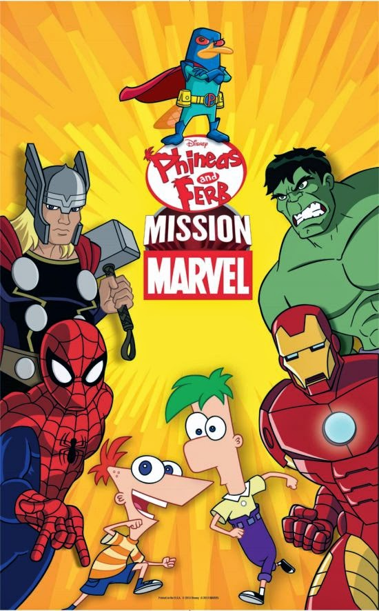 Phineas and Ferb Mission Marvel HD