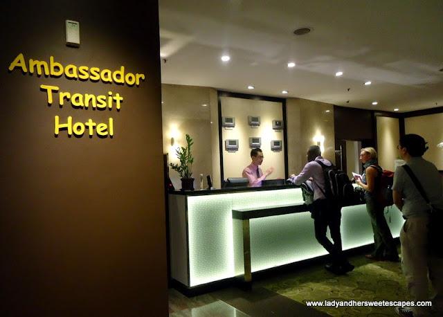 Ambassador Transit Hotel inside Changi Airport Singapore
