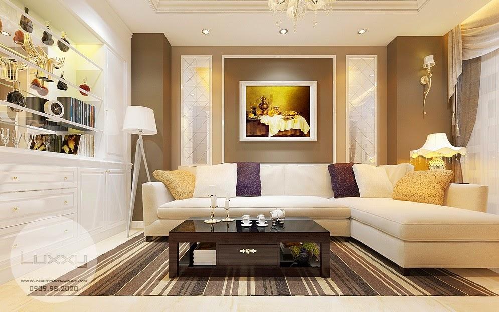 Thiết kế biệt thự T2 Ciputra phong cách Tân Cổ Điển đẹp