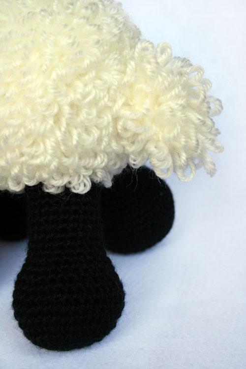 Zampe pecorella amigurumi