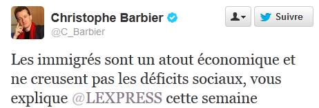 tweet barbier