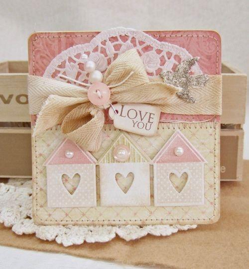 Cartões criativos para o dia dos namorados