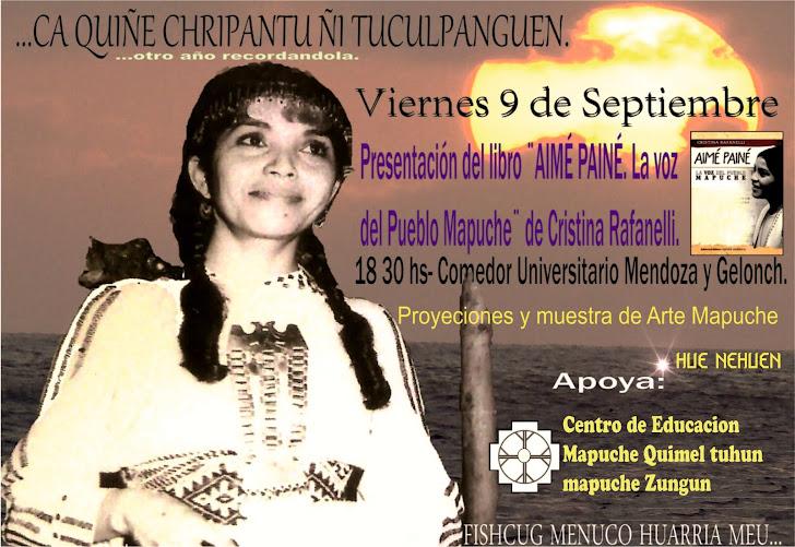 Afiche: Presentación  del libro de Cristina Rafanelli