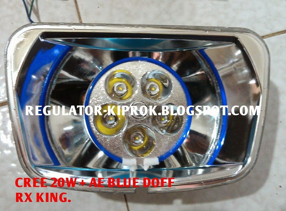 Top modifikasi lampu depan motor rx king
