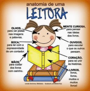 Anatomia de uma boa leitora
