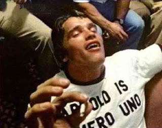 arnold schwarzenegger getting high