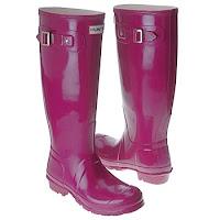 Hunter Boots Violet2