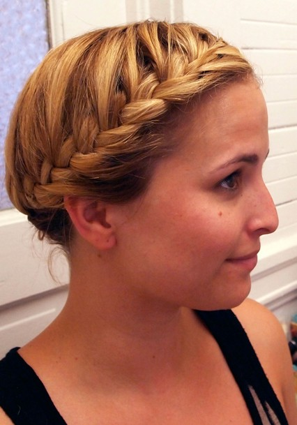 latest french braid hairstyles