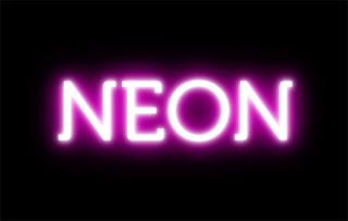 CSS3:Neon yazı efekti